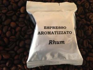 Espresso aromatizzato Rhum