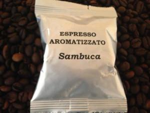 Espresso aromatizzato Sambuca